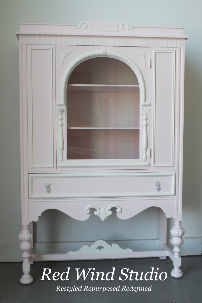Pink Cashmere Cabinet