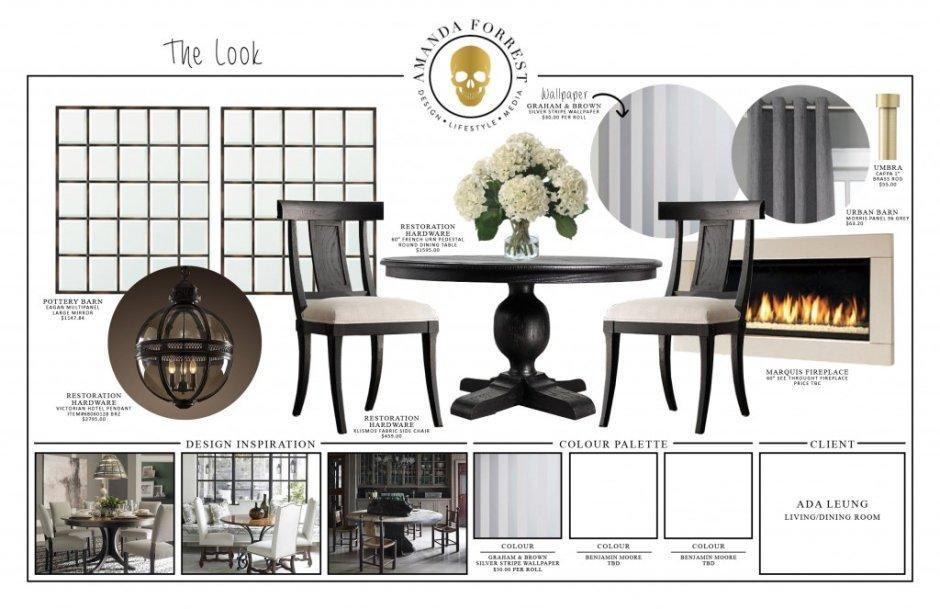 Design Boards - Ada - Inspiration