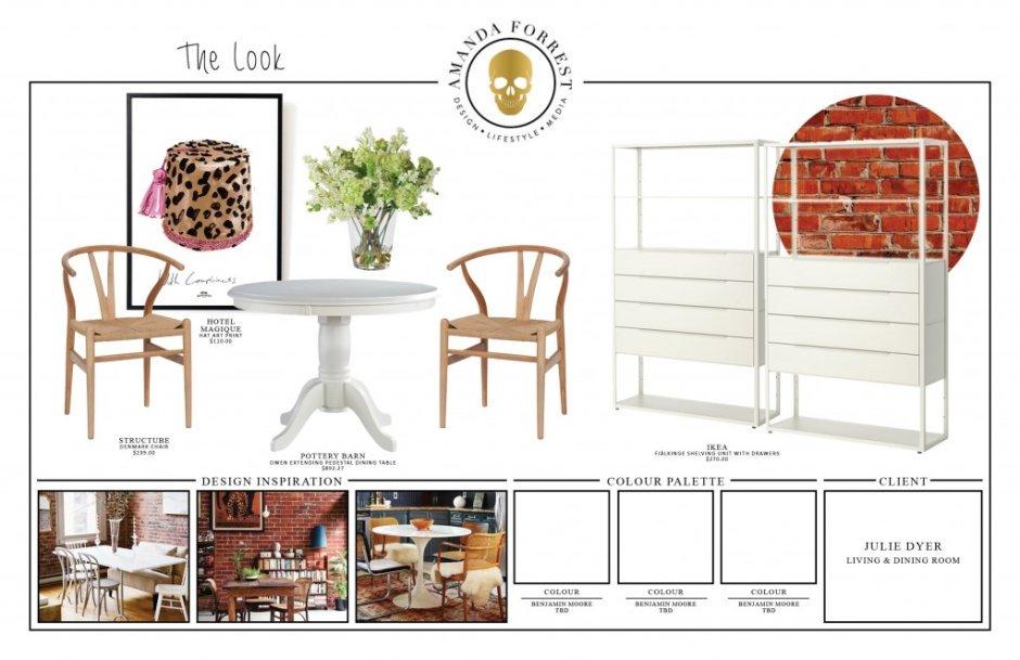 Design Boards - Julie