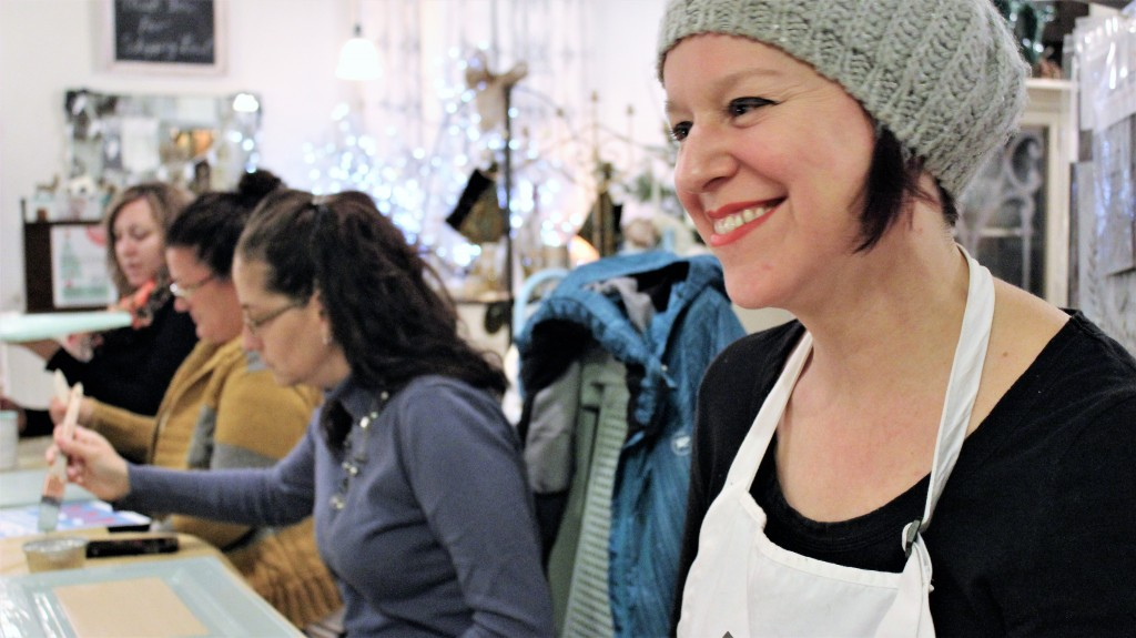 Vanessa MacLellan is the owner and operator of The Gilded Monarch, a FAT Paint retailer in Smith Falls, Ontario.