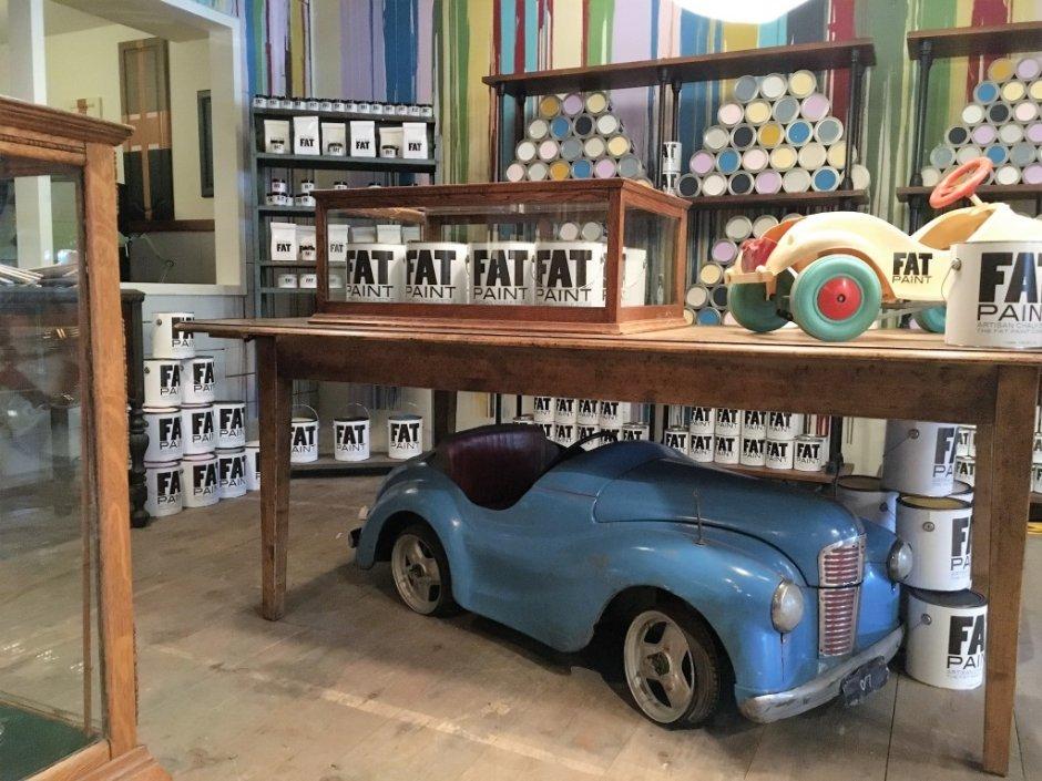 Vintage Hardware store set from A&E's Bates Motel. Photo credit: Jennifer Abrams