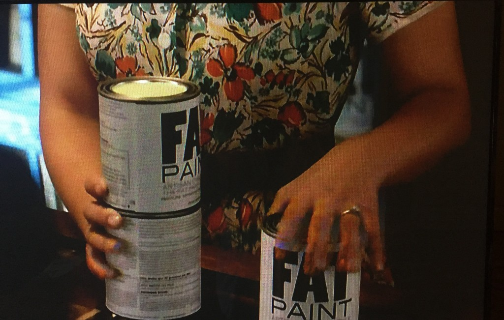 Screen Shot from A&E's Bates Motel, featuring FAT Paint