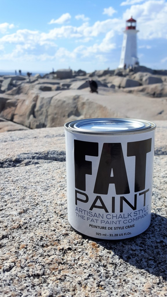 #FATwashere - Canny at Peggy's Cove Lighthouse
