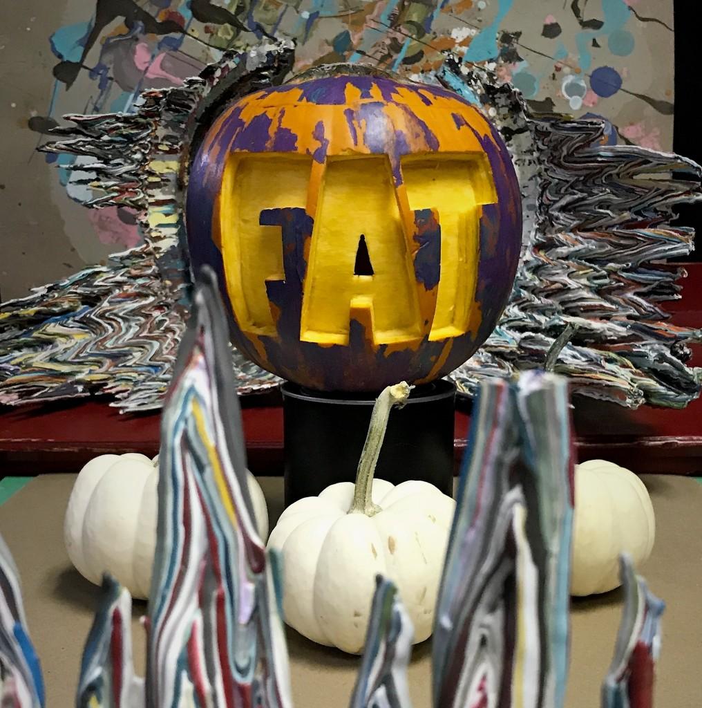 Pumpkin carve FAT 2