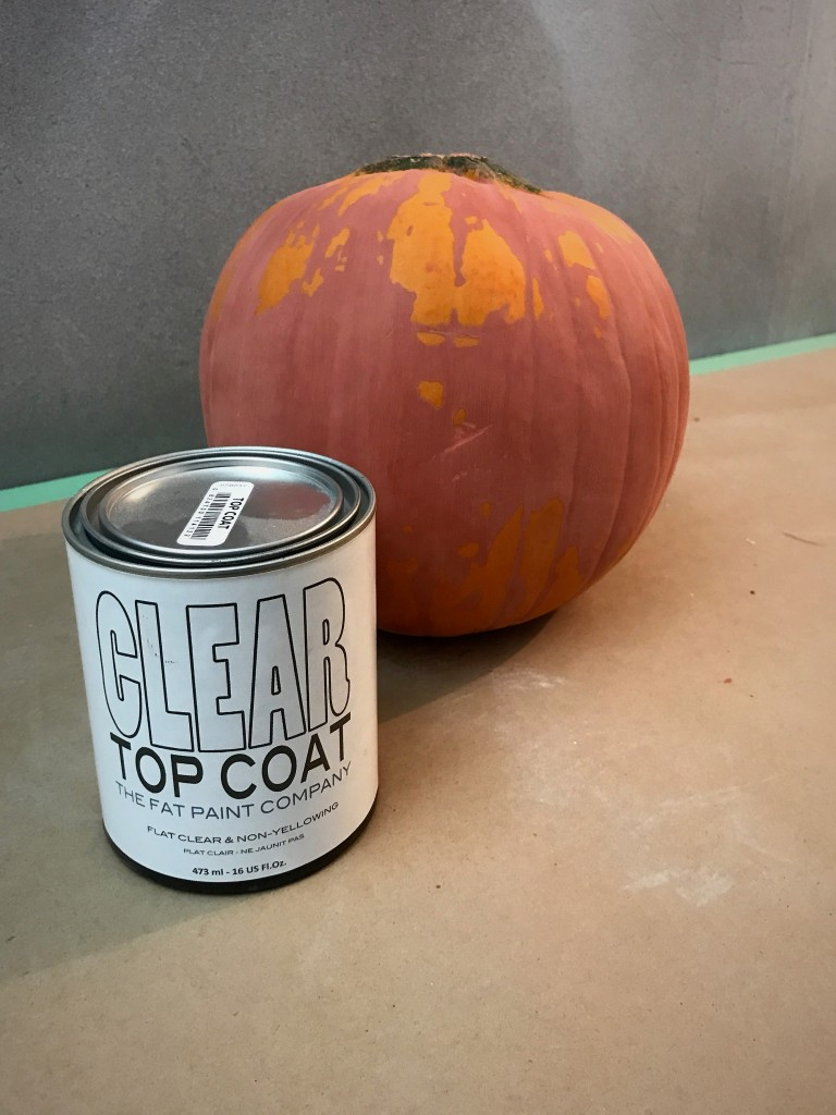 Pumpkin clear coat Autumn 1