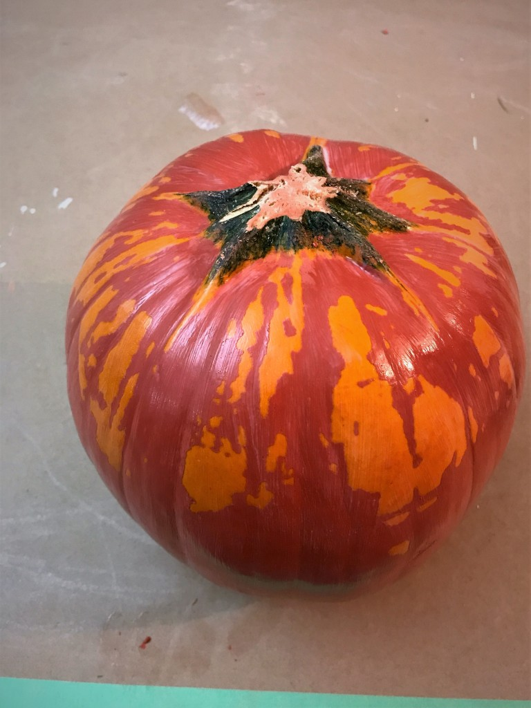 Pumpkin clear coat Autumn 2