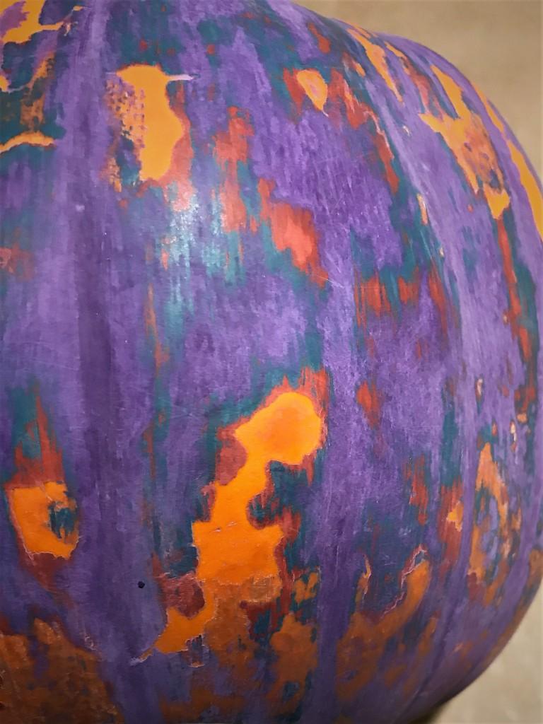 Pumpkin distress Dharma 2