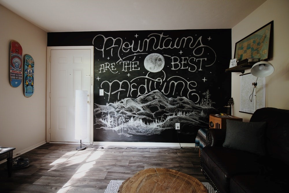 6 creative ways to decorate a wall guest post johanna cider fat whether you hand paint it yourself or hire a professional to do it a wall mural will certainly capture attention solutioingenieria Gallery