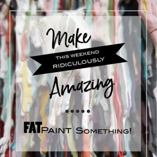 We're Ready... How about you? #FATPaintStudio #FATPaint #inFATuated #FATPaintFriday #bestchalkpaint #madeincanada #diyhome #diyfurnuturemakeover #upcycledfurniture #revivedandrefinished #paintallthethings #custompaintedfurniture #interiordecor #whybynew #colorcrush #paintjoy #hgtv #hgtvcanada #artisanlife #becreative #loveFATPaint
