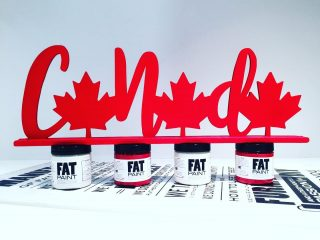 Happy Canada Day! Let's Celebrate ❗️🇨🇦❗️ . . #FATPaintstudio #FATPaint #inFATuated ❕ #canadianmade #canadadecor #mapleleaf #redheart #paintingproject #chalkpainted #canadalove #fatpaint #homeandnativeland #canadaday